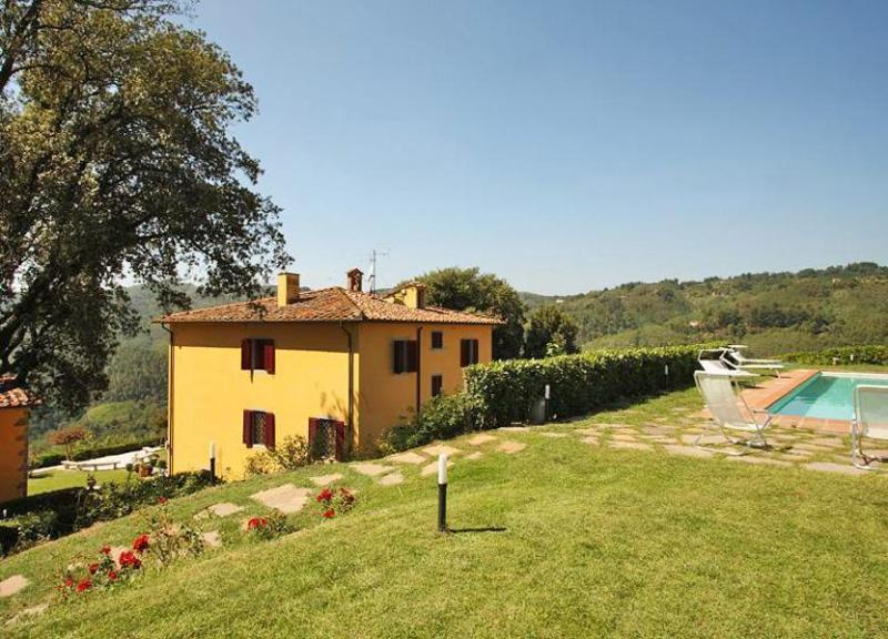 Side view of the villa - Villa Antica - Massa e Cozzile - rentals