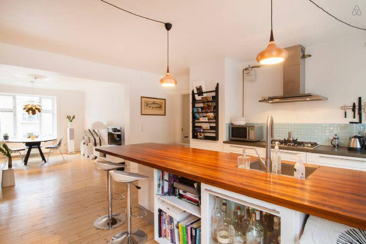 Gammel Kalkbraenderi Vej Apartment - Bright and modern Copenhagen apartment near Bopa Square - Copenhagen - rentals
