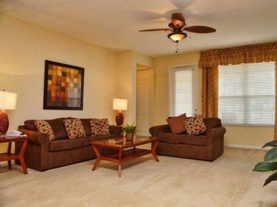 Living Area - VC2C5025SL-102 Luxury 2 Bedroom Condo in Vista Cay Near Disney - Orlando - rentals