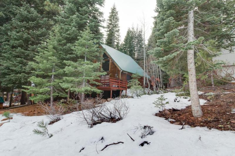 Unique & cozy cabin in the woods with private hot tub & shared pool - Dogs OK! - Image 1 - Truckee - rentals