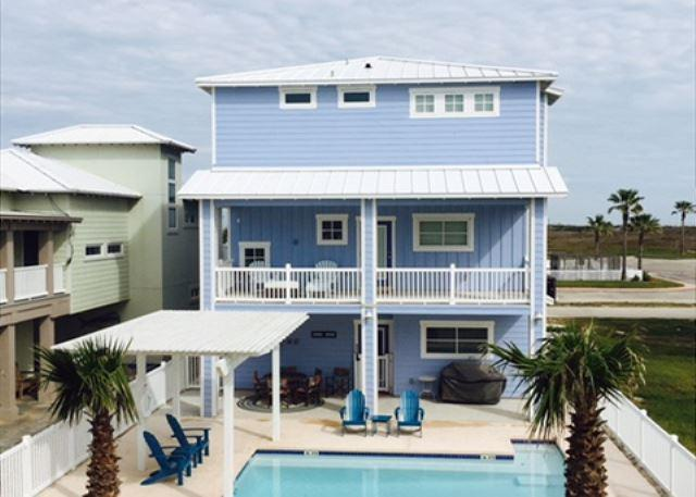 Welcome to House of VIEWS - House of Views: Private Pool, Walkover to the Beach, Elevator,*Free Golf Cart - Port Aransas - rentals