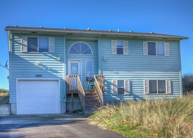 Hamilton House Front - Pacific Sunset (WAS HAMILTON)  Ocean front, Waldport, - Waldport - rentals