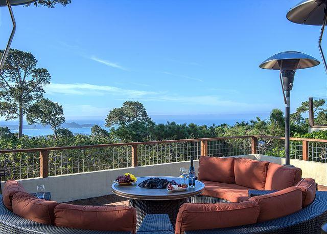 3556 Heavenly Vista ~ Stunning Views of the Ocean & Point Lobos, Luxurious - Image 1 - Carmel - rentals