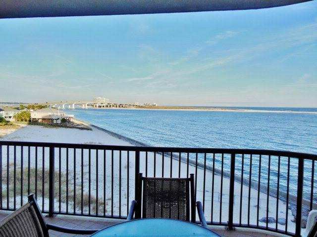 Enjoy morning coffee and take in this view! - Grand Pointe 301 (3 bedrooms/3 baths) - Orange Beach - rentals