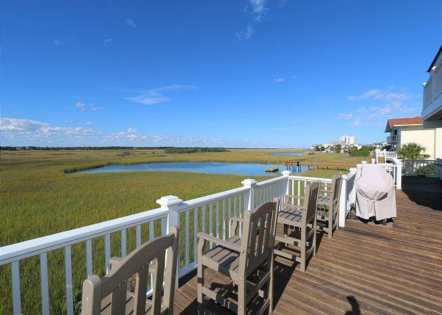 Atlantis-Wonderful sound front home on the North End of Wrightsville Beach - Image 1 - Wrightsville Beach - rentals