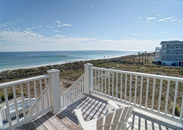 Fonvielle- Exceptional upscale and spacious oceanfront home w/ gourmet kitchen - Image 1 - Wrightsville Beach - rentals