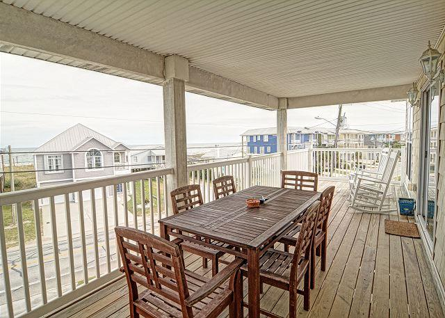 Myers Pleasure Island- Get the feel of the Caribbean in this ocean view condo - Image 1 - Kure Beach - rentals