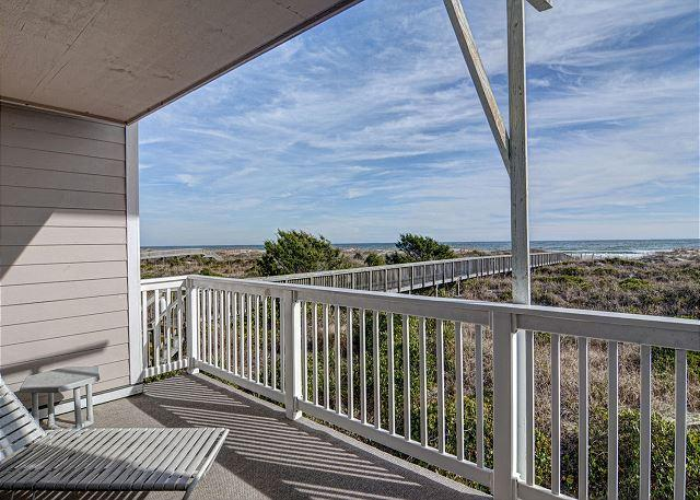 Lower Deck - Wrightsville Dunes 1A-G - Oceanfront condo with community pool, tennis, beach - Wrightsville Beach - rentals