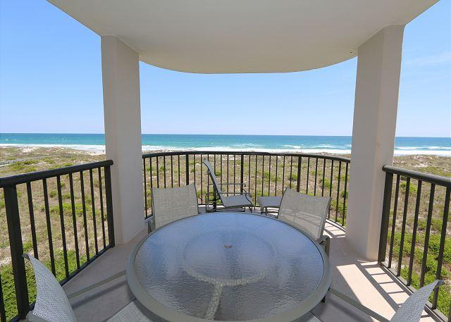 Covered Balcony - DR 1309 -  Getaway to this oceanfront condo with pool and direct beach access - Wrightsville Beach - rentals