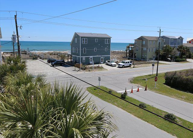 "Coquina -  Unwind and enjoy this quiet ocean view ""Oasis"" close to the beach - Image 1 - Kure Beach - rentals"