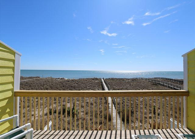 Cedars #3 - 3 Bedroom Oceanfront Townhouse, easy beach access, amazing views - Image 1 - Carolina Beach - rentals