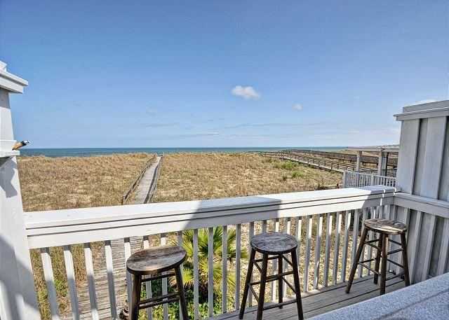 Oceanfront Dek - Cedars #4 - 3 Bedroom Oceanfront Townhouse, easy beach access,amazing views - Carolina Beach - rentals