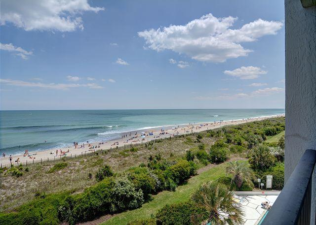 Station One - 4F Mills - Oceanfront condo with community pool, tennis, beach - Image 1 - Wrightsville Beach - rentals