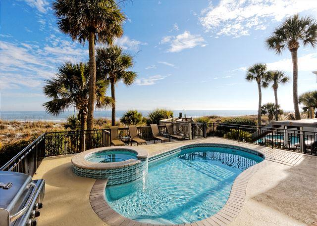 Welcome to Roadrunner 5! - Roadrunner 5, Oceanfront, 7 Bedrooms, Private Pool, Spa, Elevator, Sleeps 20 - Hilton Head - rentals