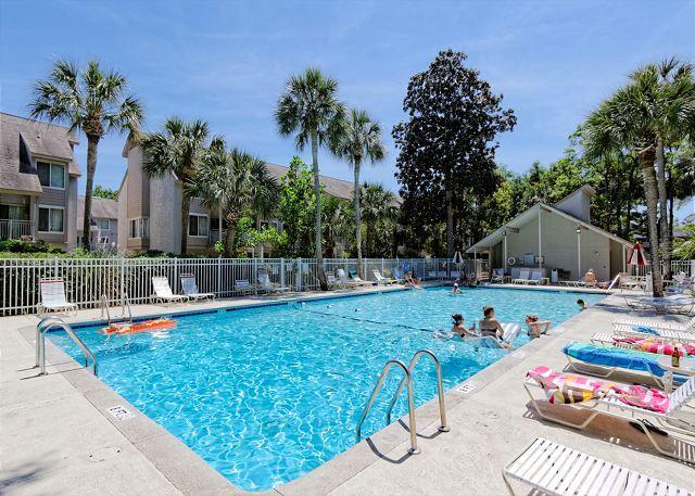 Island House 110 Pool Fun - Island House 110, 4 Bedroom, Pool, Short walk to beach, Sleeps 8 - South Carolina Island Area - rentals
