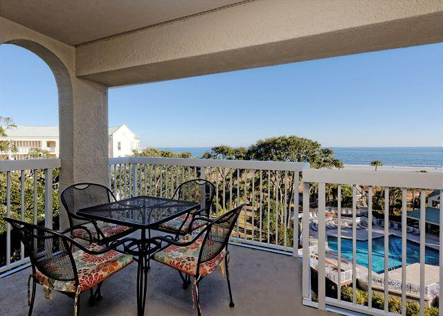 Views - Barrington Arms 503, 1 Bedroom, Ocean View, Pool & Spa, Sleeps 4 - Hilton Head - rentals
