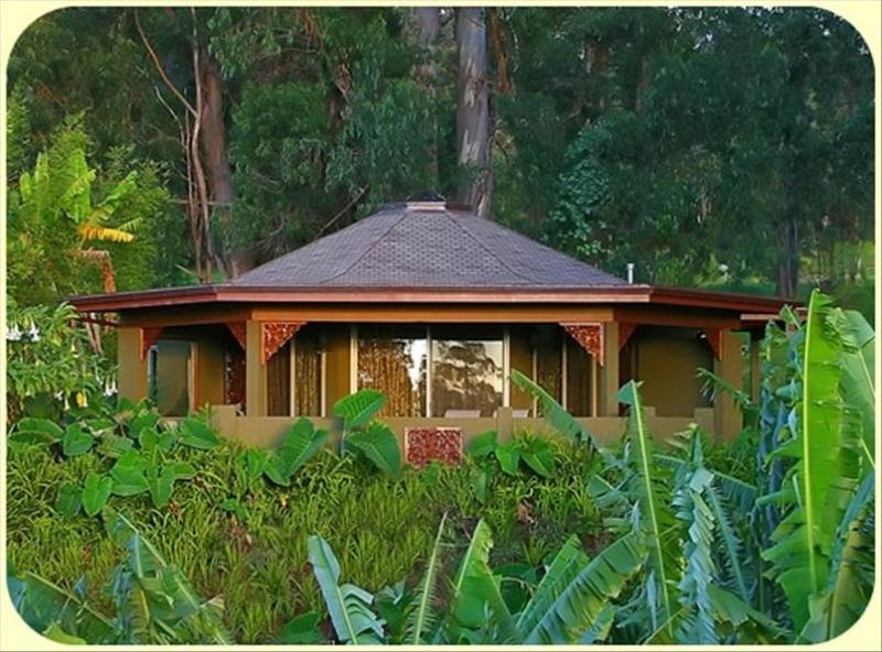 Perched atop the highest spot on the property - the Aloha Cottage. - Most Romantic Cottage - Makawao - rentals