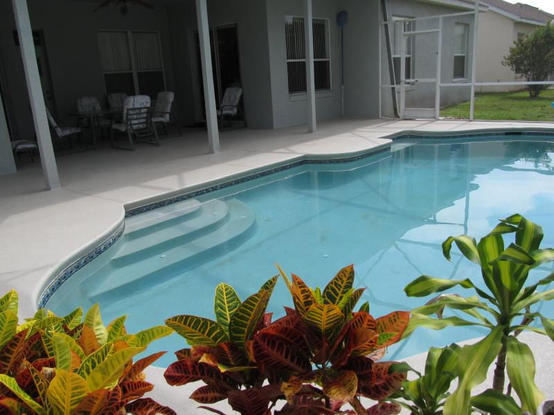 private pool area - Hampton Lakes 4 Bedroom Home Private Pool Free Wi- - Davenport - rentals