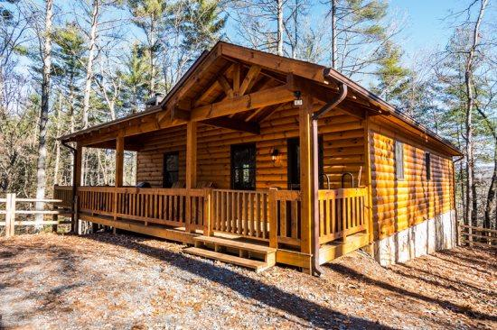 Aska Woodlands - Stay in this beautiful pet friendly cabin with fenced yard and gated porch in the Aska Adventure Area. Aska Woodlands - Blue Ridge - rentals