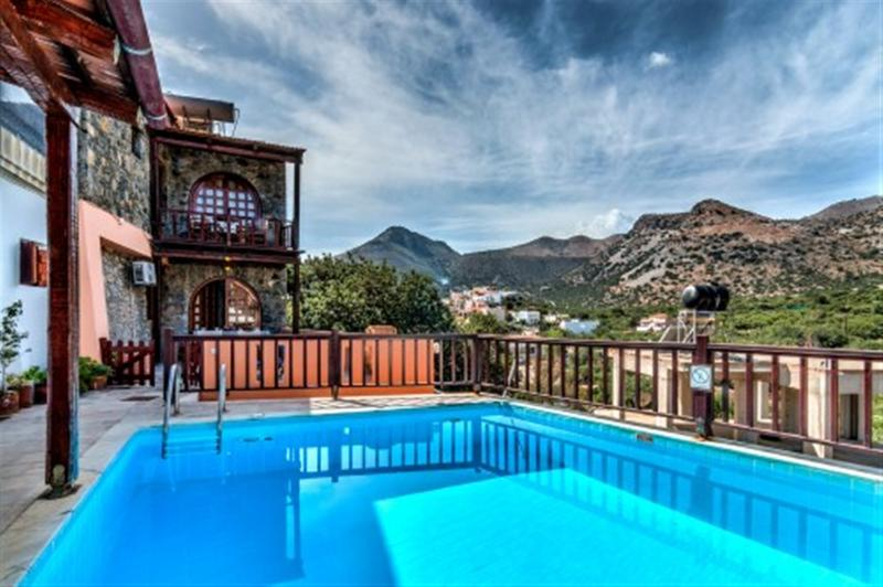 Traditional Home with Sharring Pool (Penelope) - Image 1 - Elounda - rentals
