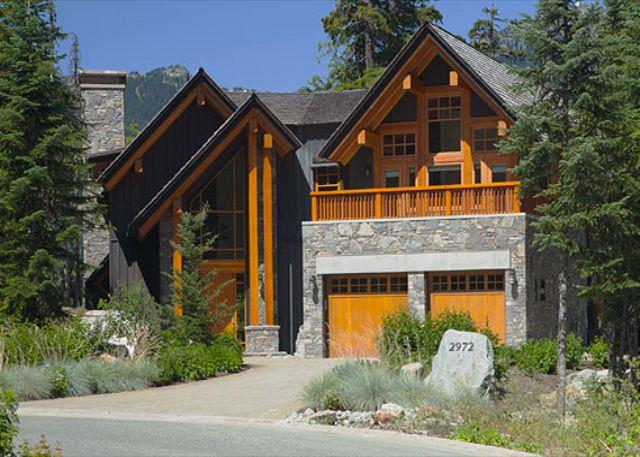 Front Exterior View of Property in Summer - Kadenwood #2972 | Whistler Platinum | 5 Star Luxury Ski-In Ski-Out Home - Whistler - rentals