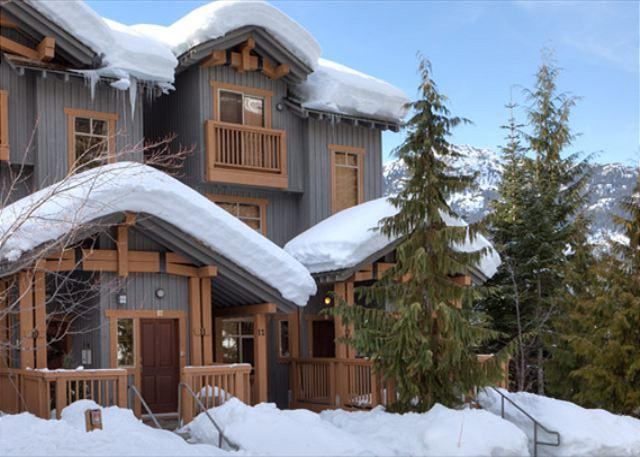 Exterior View of Property - Taluswood the Bluffs 13 | 2 Bed Townhome with Ski Access, Shared Hot Tub - Whistler - rentals