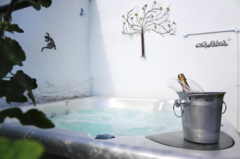 The private hot tub - Rose Cottage Devon - Umberleigh - rentals