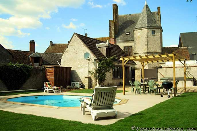 Manor House in the Loire Valley w/ Pool!- ID# 315 - Image 1 - Auteuil - rentals