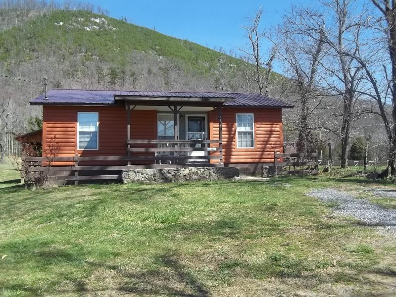 Pleasant Bank River Front Rentals Log Cabin - Image 1 - Hot Springs - rentals