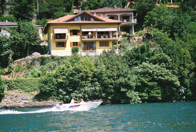 from the lake - Villetta Rosina (Lakefront property) - Nesso - rentals