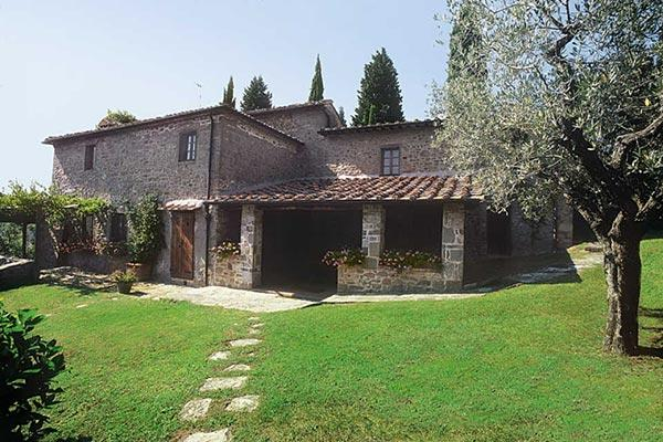 300m walk to the center of the hamlet of Volpaia- complete privacy. SAL PDV - Image 1 - Chianti - rentals