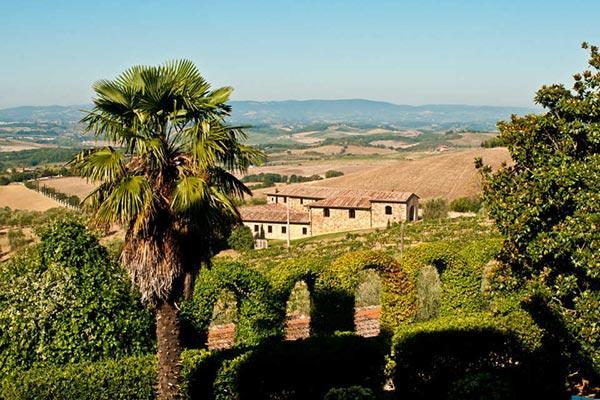 Impressive stone built, 6 bedroom farm house, set on a 750 acre farm, which produces Chianti Classico wine SAL COR - Image 1 - Chianti - rentals