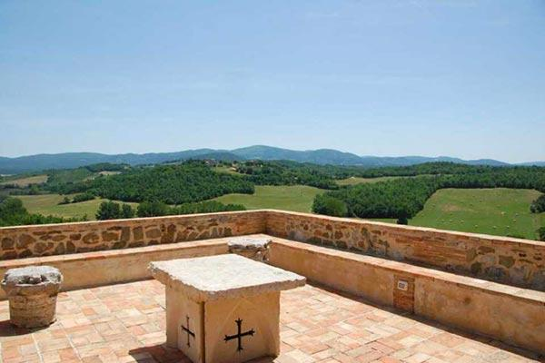 Located on a wine producing estate- 360 degree countryside view. SAL POR - Image 1 - Tuscany - rentals