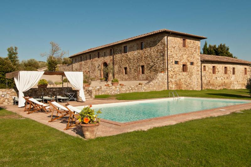 Large Farmhouse on a Wine Estate near Siena Fit for Families - Villa Castellina - Image 1 - Castellina In Chianti - rentals