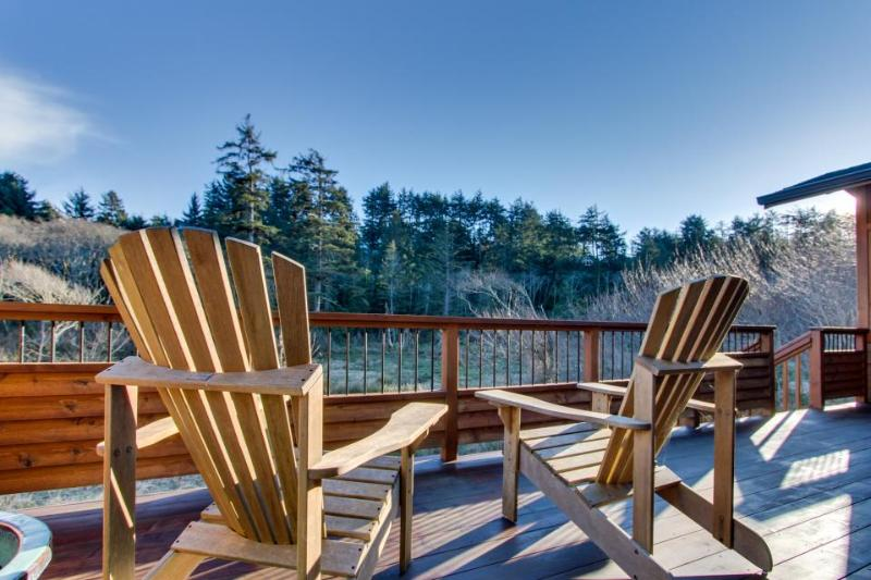 See the ocean--and the forest--from this comfy Oregon beach lodge! - Image 1 - Manzanita - rentals