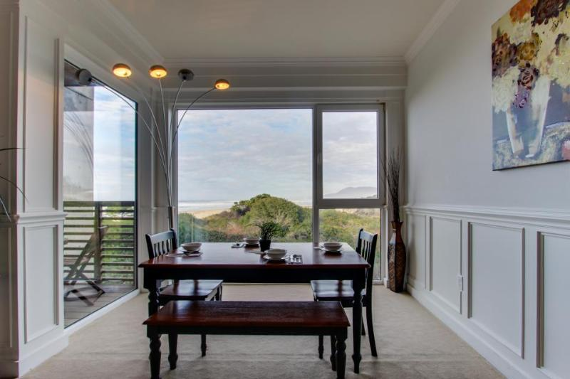 Dog-friendly oceanfront home with private deck, shared hot tub, & views - Image 1 - Rockaway Beach - rentals