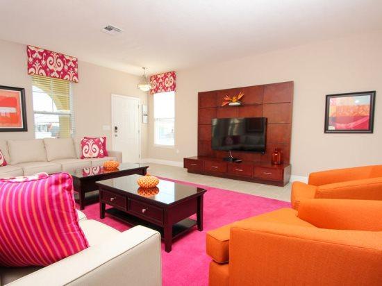 6 Bedroom 6.5 Bath Luxury Vacation Home In Solterra Resort. 4107OTD - Image 1 - Orlando - rentals