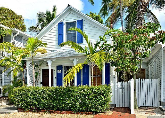 Coconut Cabana: A restored Old Town home with charm & tropical ambience - Image 1 - Key West - rentals