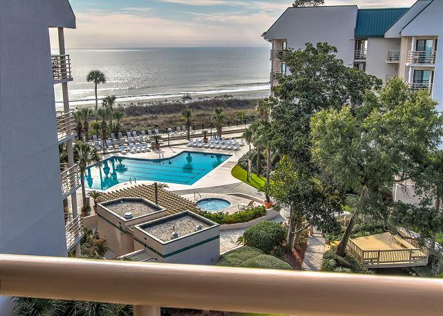 View - 1503 Villamare - 5th Floor and Pretty Oceanviews - Hilton Head - rentals