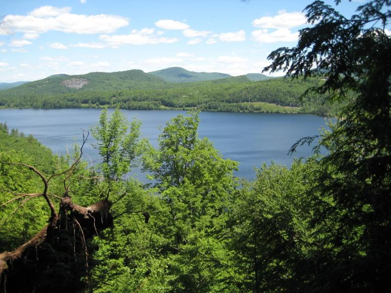 hiking paths adjacent to property have wonderful views!~ - South Pond Lakeside home near ski mountains - Greenwood - rentals