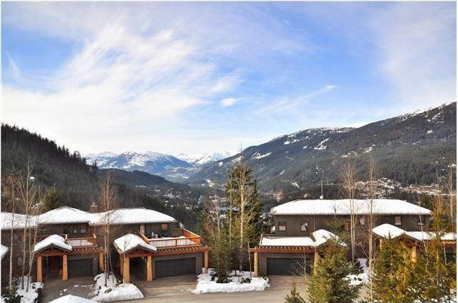 View from the living room deck - Taluswood Ridge 21 - Whistler - rentals