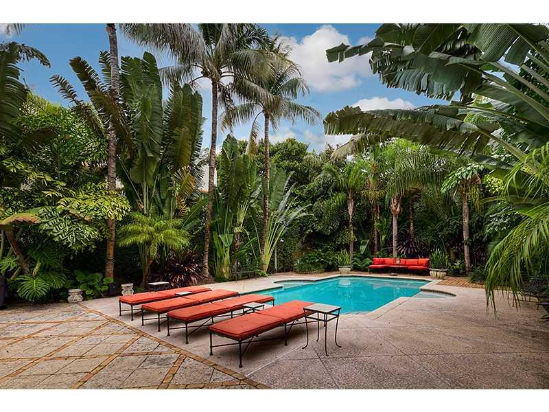 VILLA MERIDIAN Beautiful Spanish Style Villa in South Beach 6/4 Pool/Pkg/Walk to Beach/Gourmet Kitc - Image 1 - Miami Beach - rentals