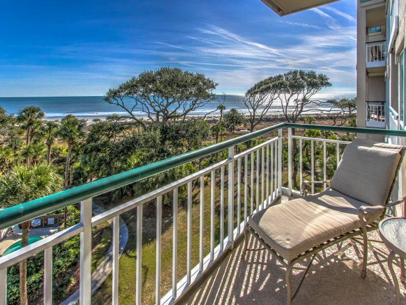 View from 3409 Windsor Court South in Palmetto Dunes - 3409 Windsor Court South - Palmetto Dunes - rentals