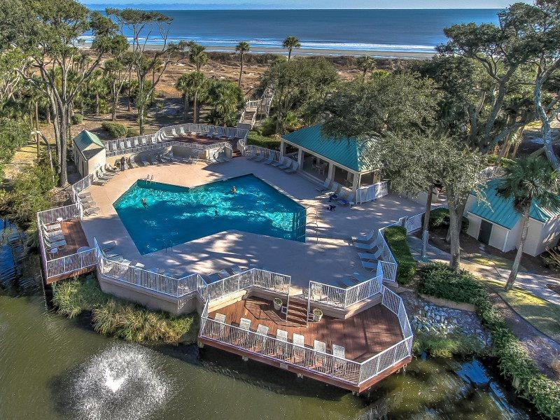 Beautiful Ocean Views from 505 Barrington Arms - 505 Barrington Arms - Palmetto Dunes - rentals