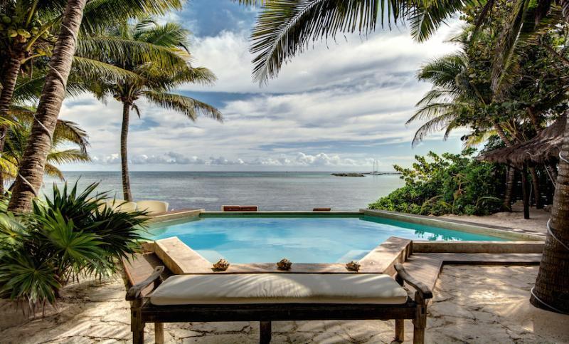 Zacil Na - Chef & Butler Included - Private Beach Villa in Gated Community! - Image 1 - Puerto Aventuras - rentals