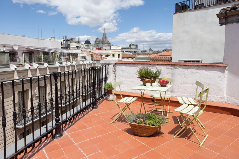 Apt:  Terrace between Puerta del Sol / Plaza Mayor - Image 1 - Madrid - rentals