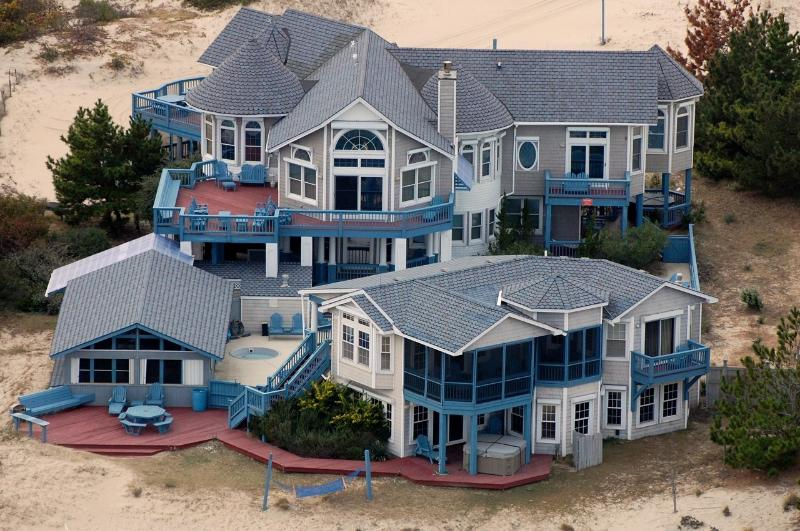 3 Building Estate Compound on 3 elevated acres in Corolla, Outer Banks, NC - Sunnybank Oceanfront Vacation Rental, Outer Banks - Corolla - rentals