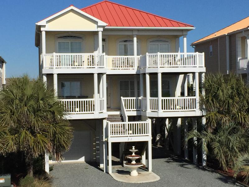 31 East First - Second Row- Ocean View - Private Pool- - Ocean View Beach House w/ Private Pool- 31E1st - Ocean Isle Beach - rentals