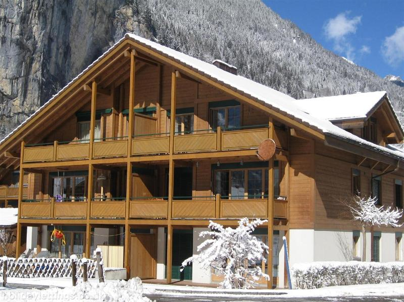 Jungfrau holiday apartment Ski and Summer. - Image 1 - Lauterbrunnen - rentals