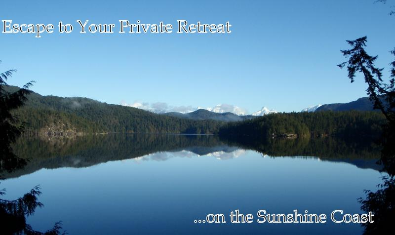 Luxury Waterfront Villas on Sakinaw Lake Sunshine Coast BC - Image 1 - Garden Bay - rentals